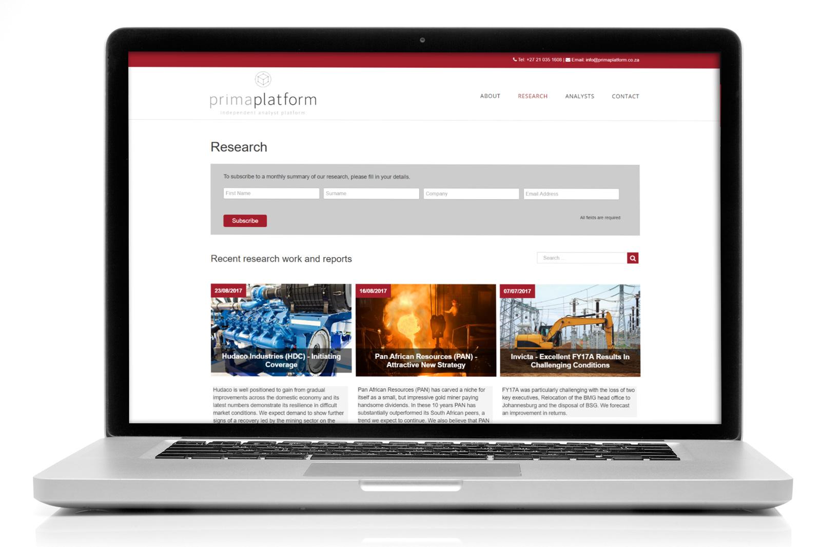 Prima-Platform